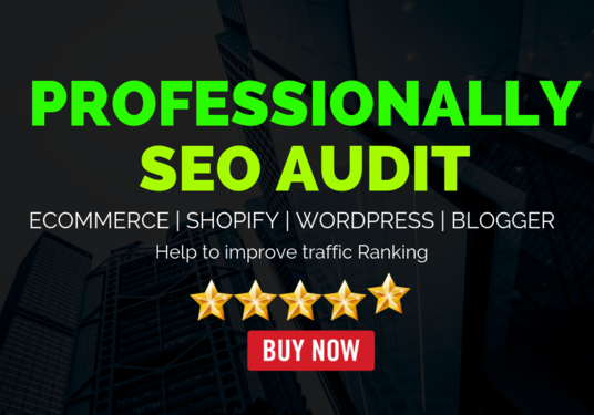 I will Do SEO Website Audit And In-Depth Competitor Analysis