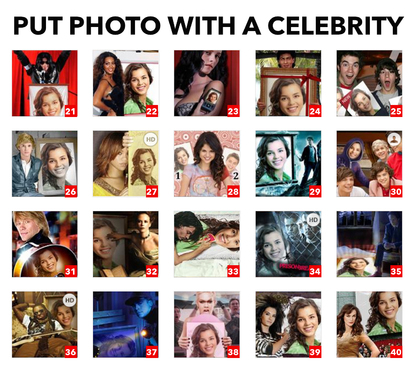 put your photo with famous celebrity