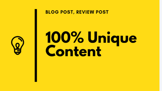 I will  write 1000 words quality content for your blog or review post