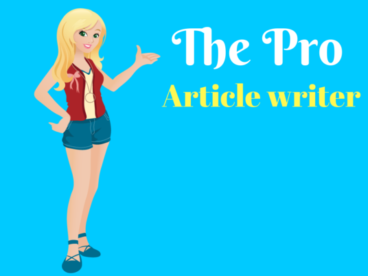 I will Provide A Professional Article Writing Service