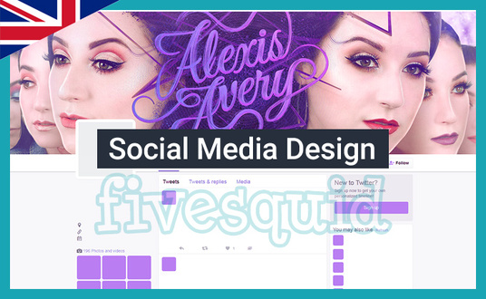 design your social media page