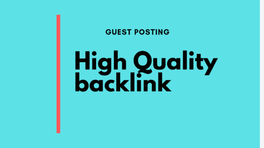 I will do high-quality guest posting for your site