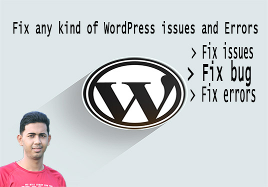 I will fix all WordPress and Design issues in short time