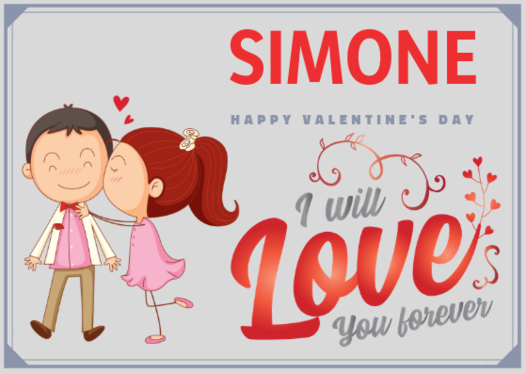 create a valentines day animated e card for you to send to a loved one