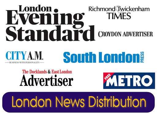 DISTRIBUTE your Press Release to every main newspaper across LONDON