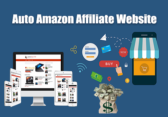 I will Create Automated Amazon Affiliate Website For Passive Income