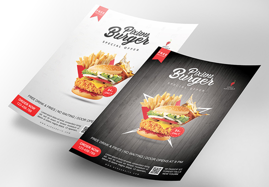 design a Creative and Professional Flyer and Poster for your Brand