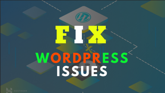 fix WordPress error, edit theme or design
