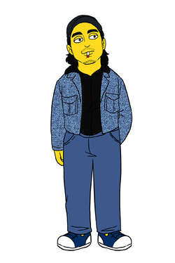 draw you as Simpson character