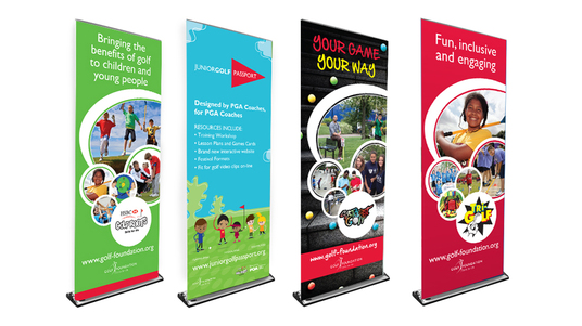 I will Create Professional Classy  Roll Up Banner For You