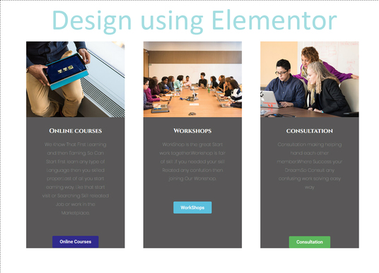 I will design a website using elementor plugin