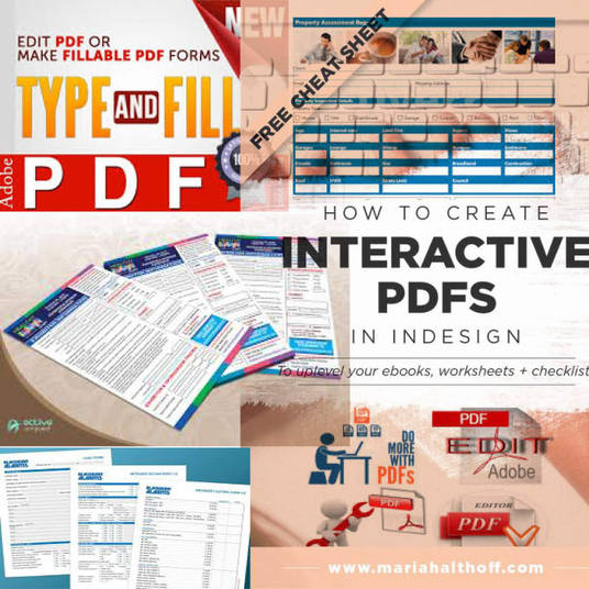 I will Turn Your PDF into Interactive and Fillable Form