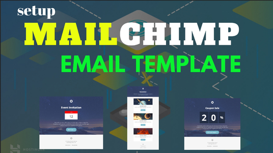 I will setup  Newsletter mailchimp Email template with opt in form