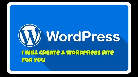 I will Create a Clean And Responsive WordPress Website