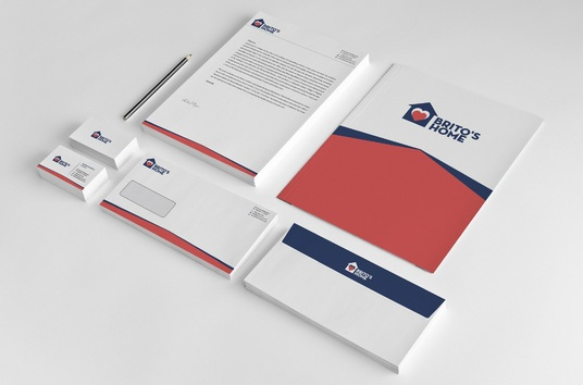 I will design a full stationery package for your business