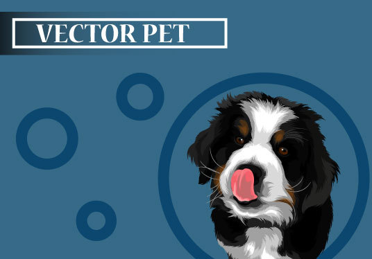I will make your Pet into  cool cartoon vector