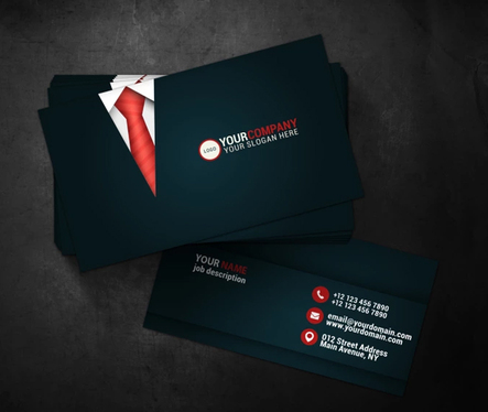 Design 2 Sided Professional looking Print Ready Business Card Design as Graphic Designer