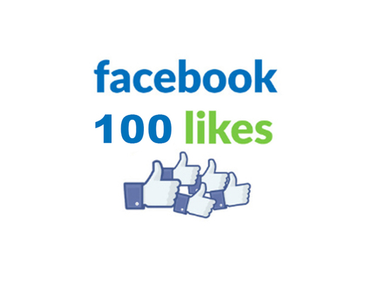 I will add 100 Facebook Likes or followers to your Facebook Page