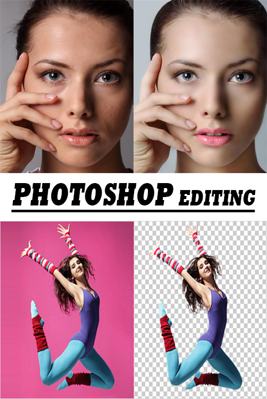 I will dp photoshop  Editing