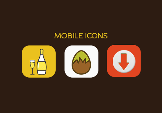 I will do mobile app icon design