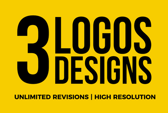I will make 3 logo design concepts as professional logo designer