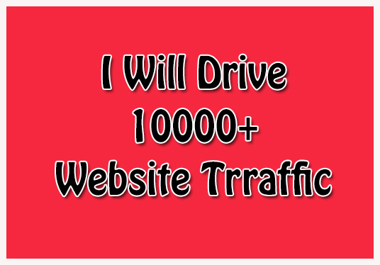 I will drive 10000+  real traffic on your website Male & Female