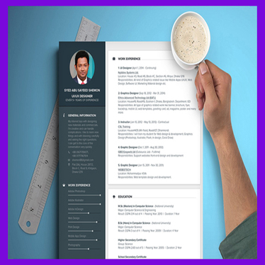design CV, Resume, Cover letter