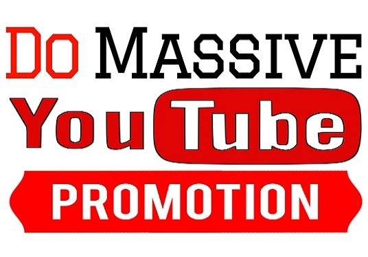 I will Do YouTube Promotion