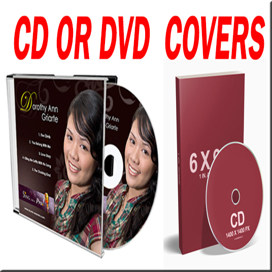 I will design CD or DVD  or covers