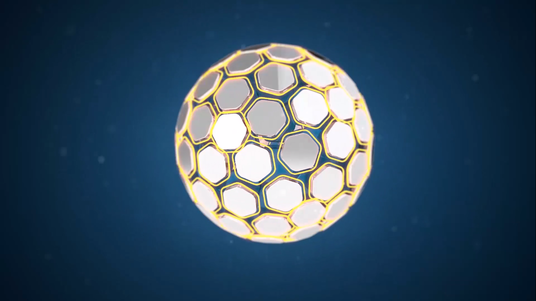 Create Gold Particles Logo Animation