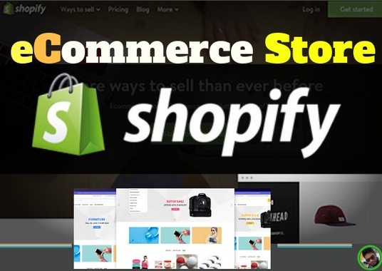 I will Create Shopify Website eCommerce Store