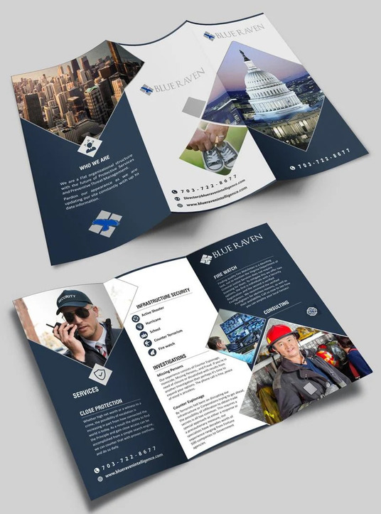 I will design any kind of brochure or flyer