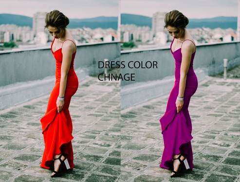 Do 3 Photos or images color change of any object, Adobe Photoshop Work Professionally