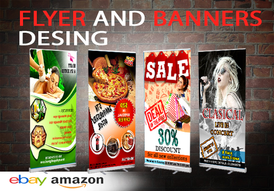 I will Design a Professional Flyer or Banner