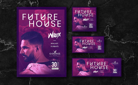 I will design creative event poster, facebook cover, party flyer