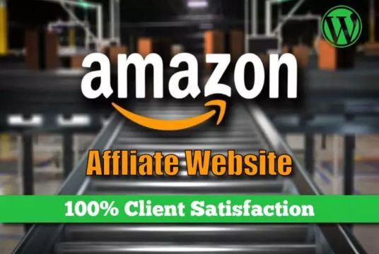 I will Deliver The Best Amazon Affiliate Website with 200 Products