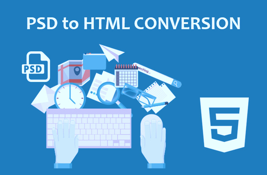 I will Convert Xd, Sketch, PSD To Html Responsive Bootstrap
