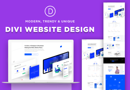I will develop or customize or copy your website using divi theme the elegant theme