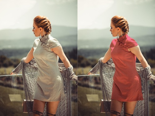 Do Color Change Or Color Correction Photoshop Work