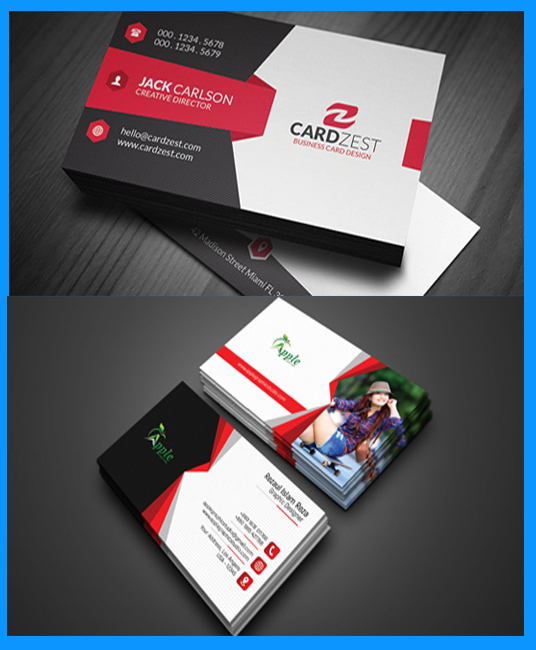 I will create Modern Creative Business card design