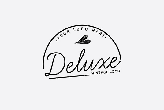 I will design unique vintage logo