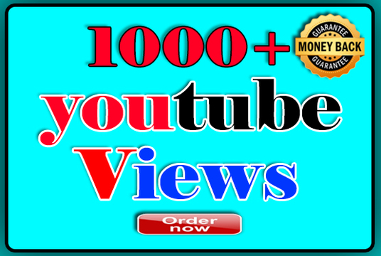 I will Provide 1000+  YouTube Targeted Views