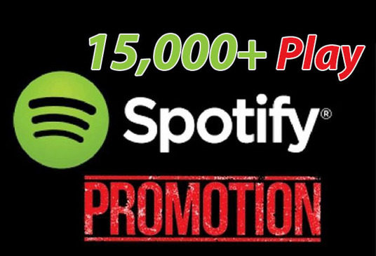 I will Give You 15000 Spotify Music Plays