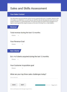 Create Google Form for your Online Survey or voting competition