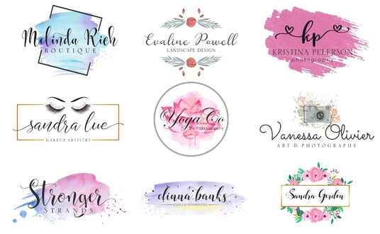 I will design a feminine logo in 24 hours for you