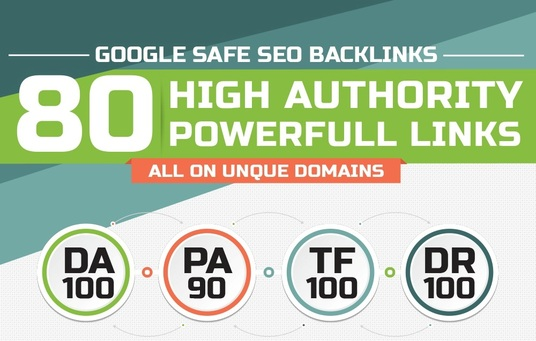 I will Manually Build 80 Unique PR 10 Seo Backlinks on DA 100 sites + Edu Links