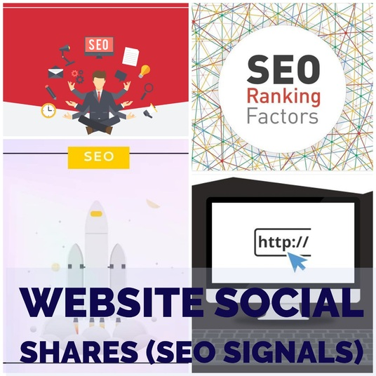 I will give you 2450 Website Social Shares - SEO Signals