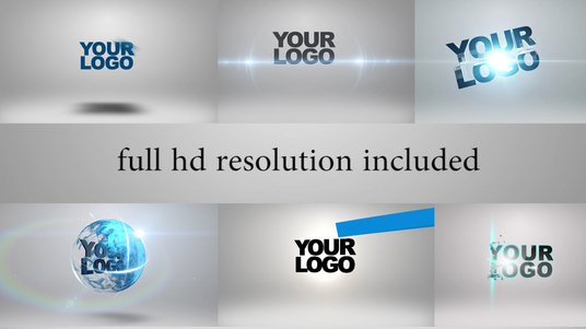 I will Create 5 Amazing Video Intro Logo Animations