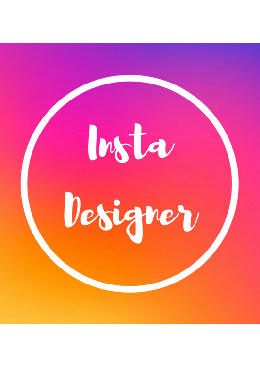 I will create & design 2 unique & personalised Instagram images for you to post o
