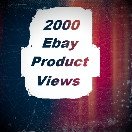 I will add 2000 Ebay Product Views